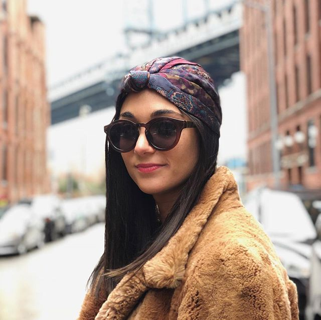 """FALL TREND PICK 🍂🍁: Turbans by @rooeyknots // I had the idea to use ties as headbands and accessories back in college and just loved the idea of repurposing and sustainability. The turbans we have are great for fall because they aren't warm like a hat but they cover your whole head so will transition from Fall to Winter effortlessly."""" - Gareth, Owner of @rooeyknots #afinchelsea"""