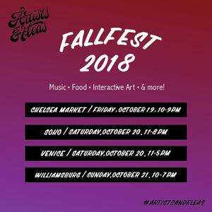 Fall Fest - CHELSEA MARKET — Artists & Fleas