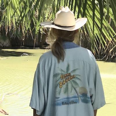 Vintage Rehabbed Hawaiian Kimono I Stole My Boyfriends Shirt