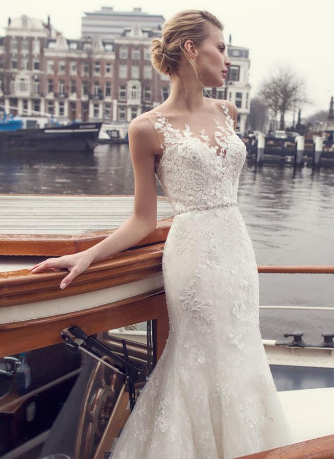 Modeca Bridal - European chic and classic bridal elegance.