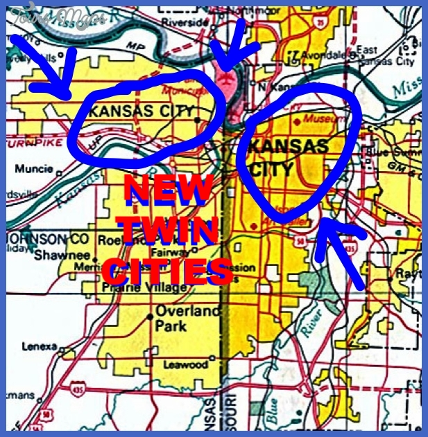 THE NEW TWIN CITIES: KANSAS CITY,KANSAS/ KANSAS CITY, MISSOURI