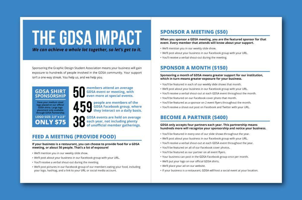 Closer Look: GDSA Sponsorship Opportunity