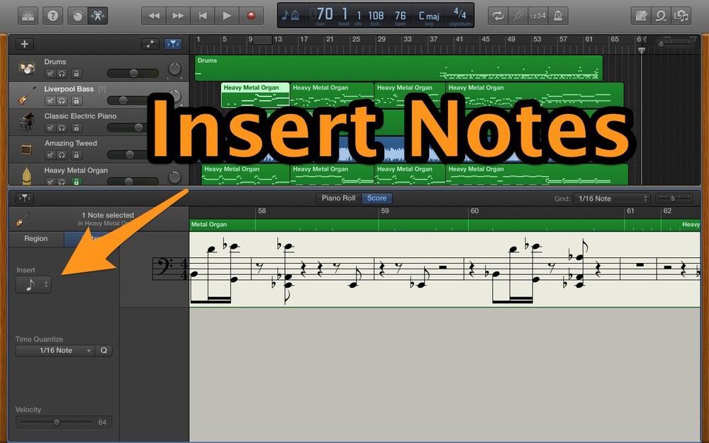 Insert Notes