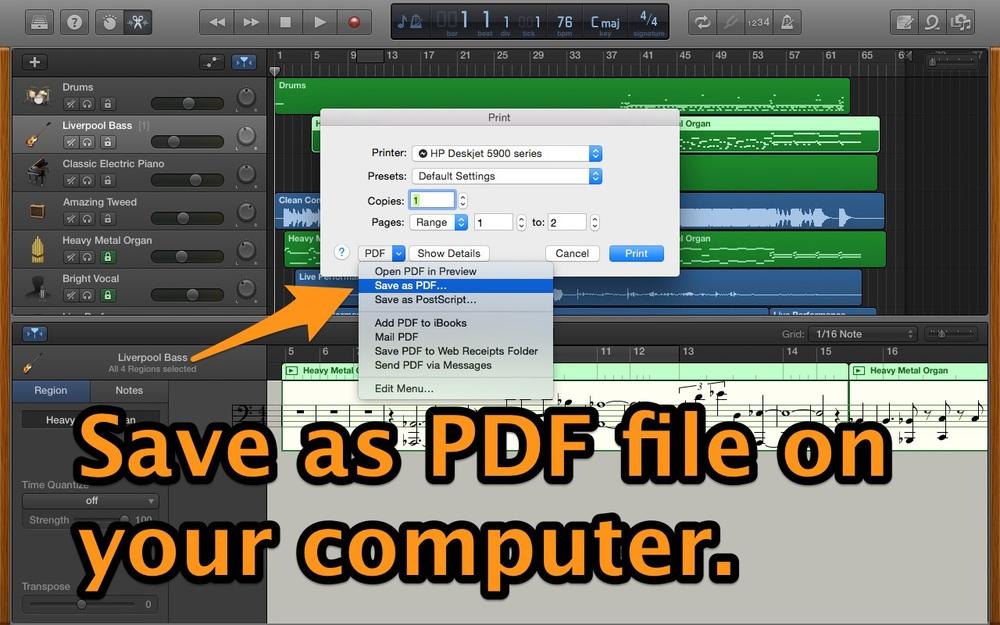 Save PDF