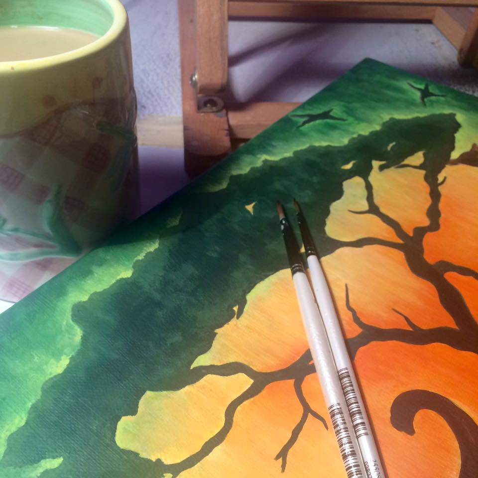 coffee and a commission...