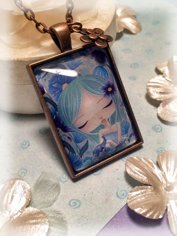 my blue heaven~pendant necklace