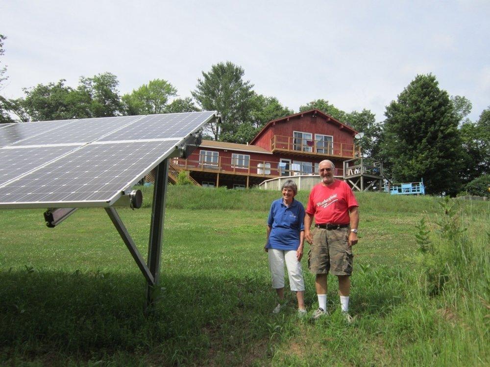 Judy Lasell & Wayne Davis, Springfield VT