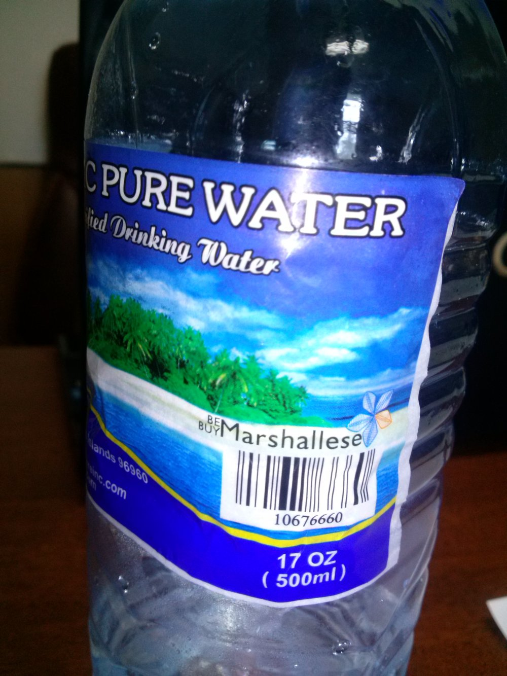 Since 1988, Pacific Pure Water Inc. (PPW) have been the leading producer of purified drinking water in the Marshall Islands. The plant in Majuro manufactures bottles and delivers drinking water to various homes and offices on Majuro Atoll as well as all over the Marshall Islands.