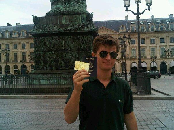 Found my passport!
