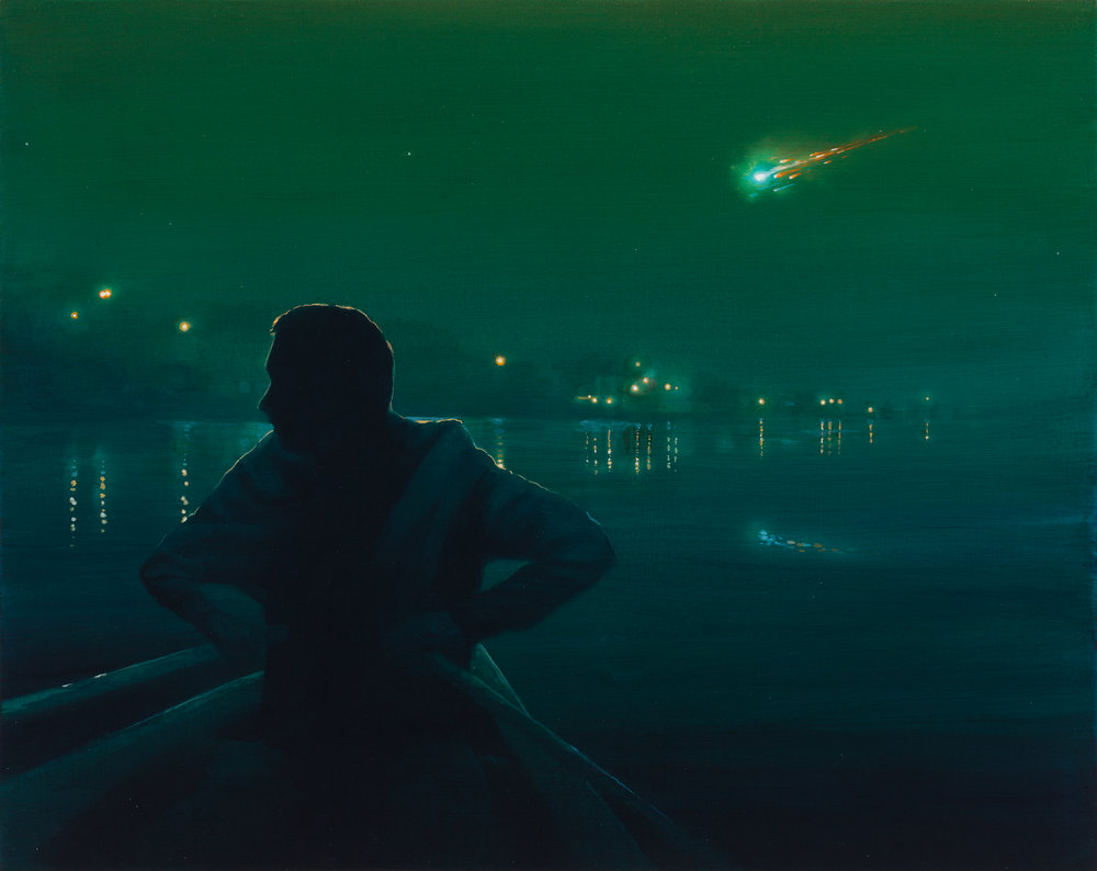 """""""Nocturne in Green and Gold"""""""
