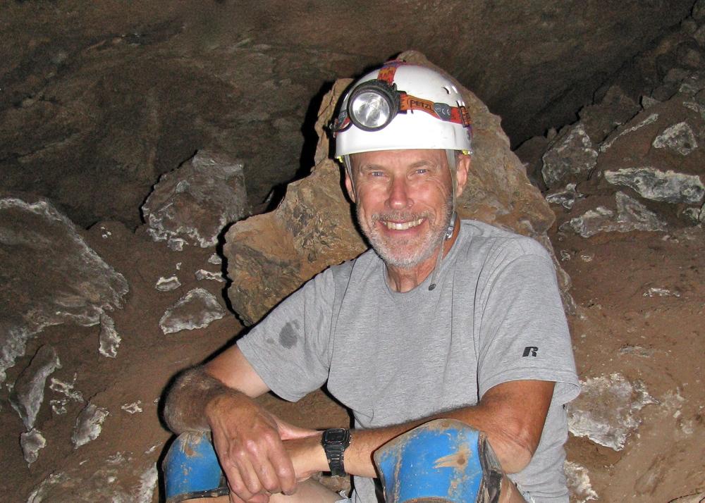 Doug underground