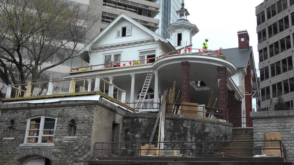 Mike Latham, a New York industrial artist & architect, purchased the Castle in 2010 and spent several million dollars stabilizing and restoring the structure.      Video : October 16, 2013