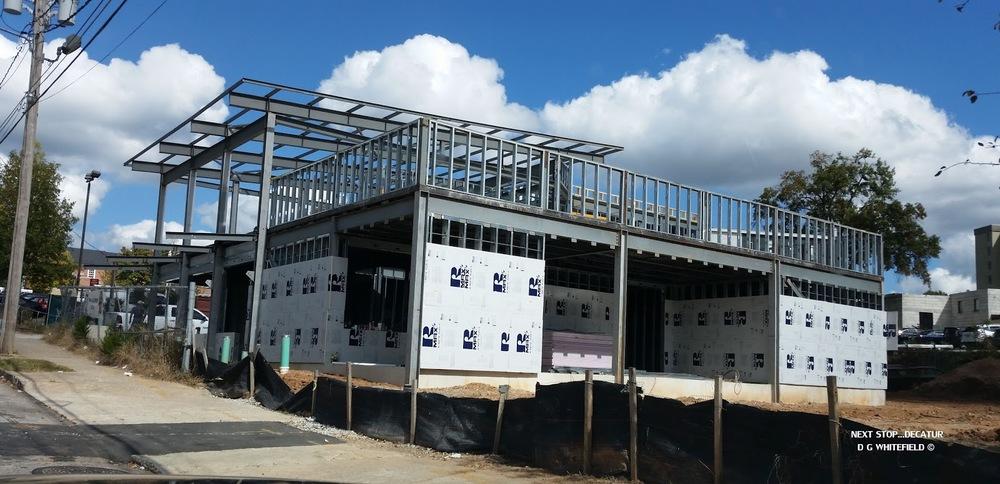 Pictured: Grindhouse Killer Burgers Decatur under construction
