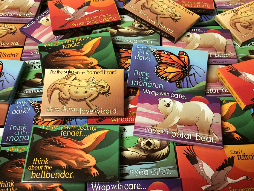 Endangered Species Condoms