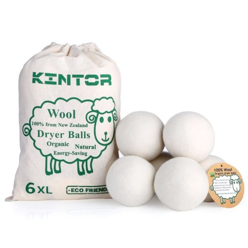 Kintor XL Wool Dryer Balls, 6-pack