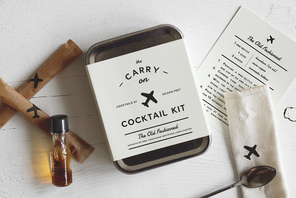 Carry-On Cocktail Kit - The Old Fashioned