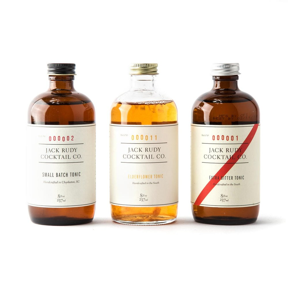 Jack Rudy Cocktail Co. Tonic Trio