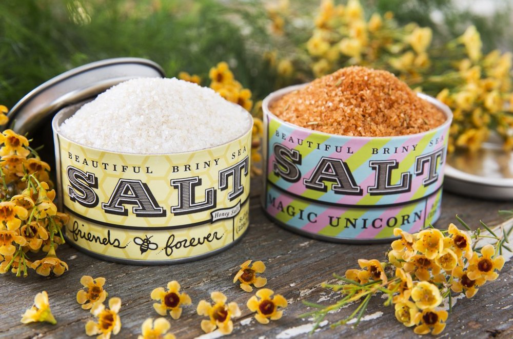 Beautiful Briny Sea Salt (Atlanta-made)