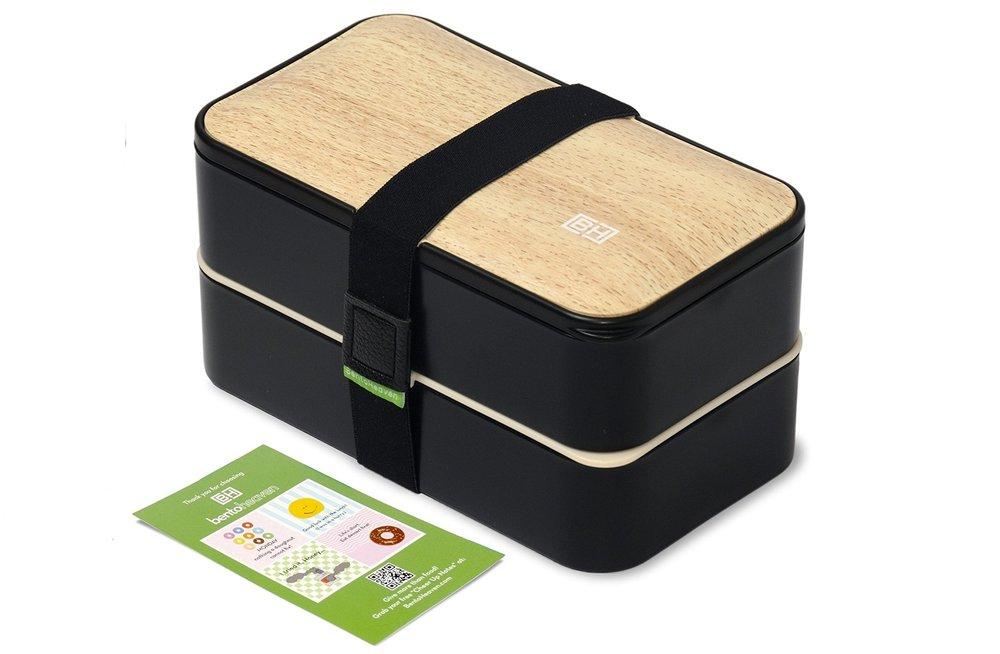 BentoHeaven Bamboo Bento Box