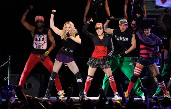 Madonna's Sticky and Sweet Tour.