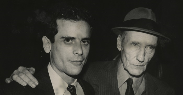 Howard Brookner & William S. Burroughs (Photo by Paula Court)