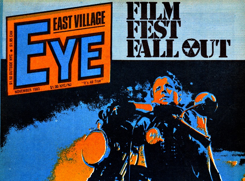 Mary Allen's review of Burroughs: The Movie, from the 1983 New York Film Festival premier, can be found on page 18 of East Village Eye from November 1983: http://east-village-eye.com/eyepdfs/nov83.pdf