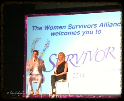 Guiliana and Bill Rancic - Keynote speakers at SURVIVORville 2014 in Nashville, TN