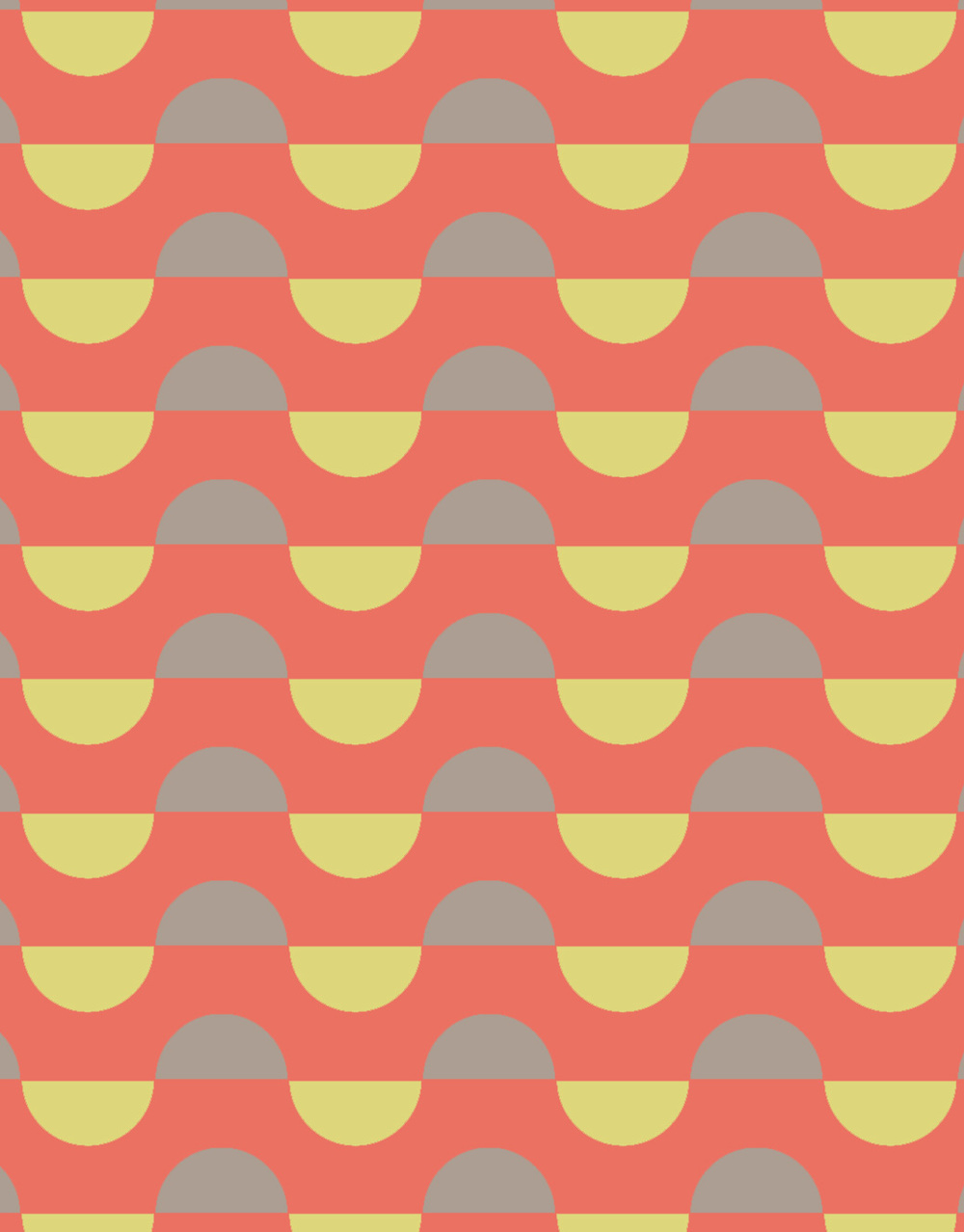 print inspired by 60's pop patterns