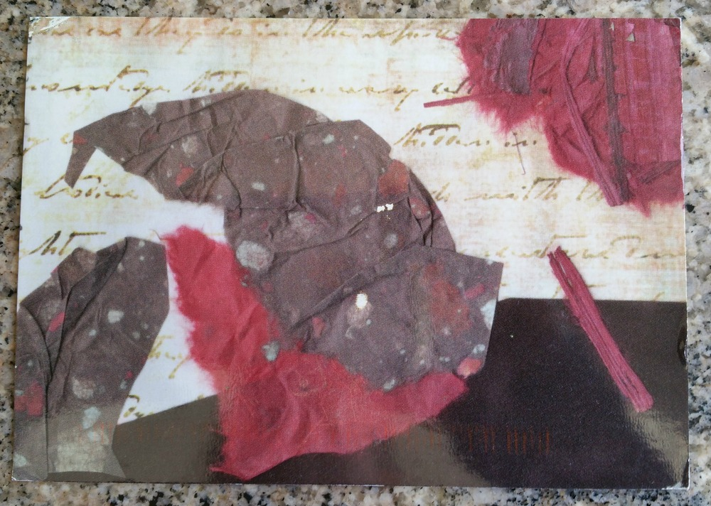 2015 Liberate Your Art Swap card received from D.L. Correa