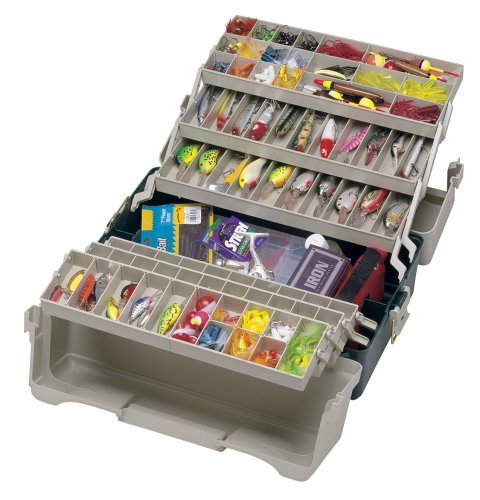 Tackle box, soon to be stitchery kit