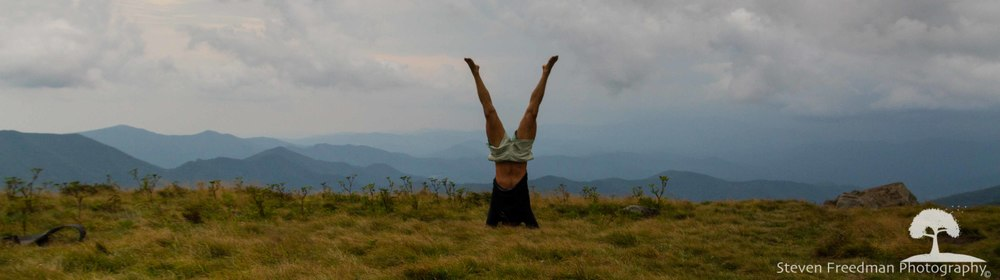 High elevation headstands