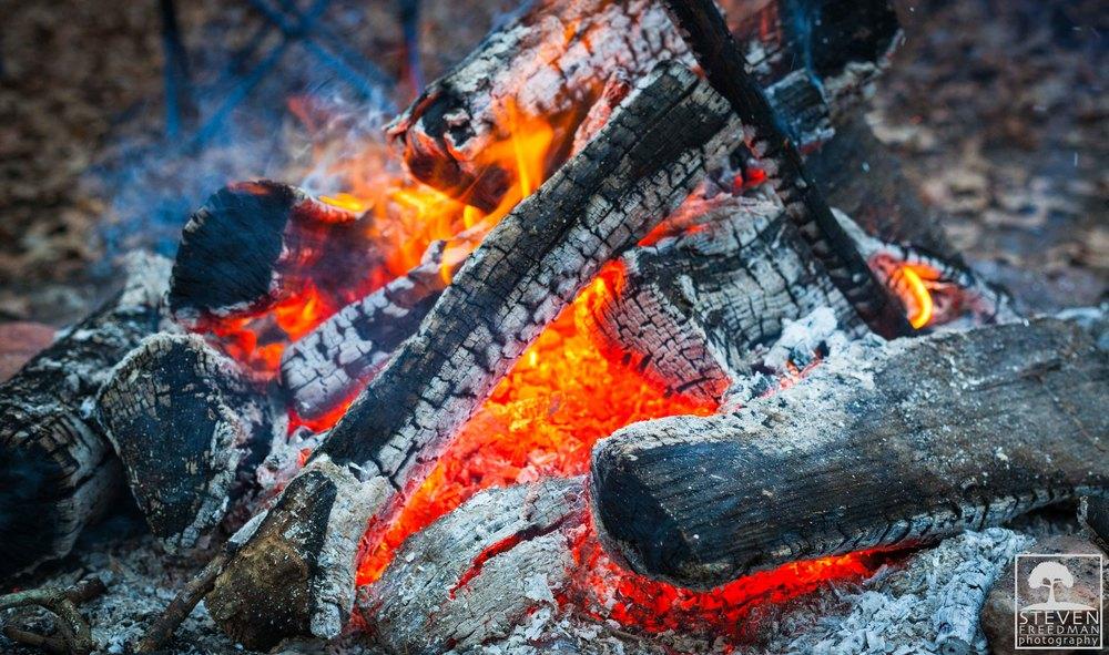 We build fires.