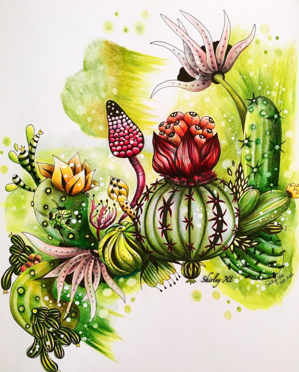 The Cactuses by Shirley Yao  @shirley_tutopia