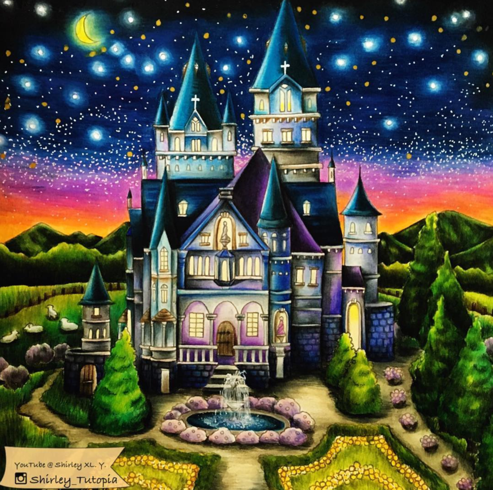 The Magic Castle by Shirley Yao  @shirley_tutopia
