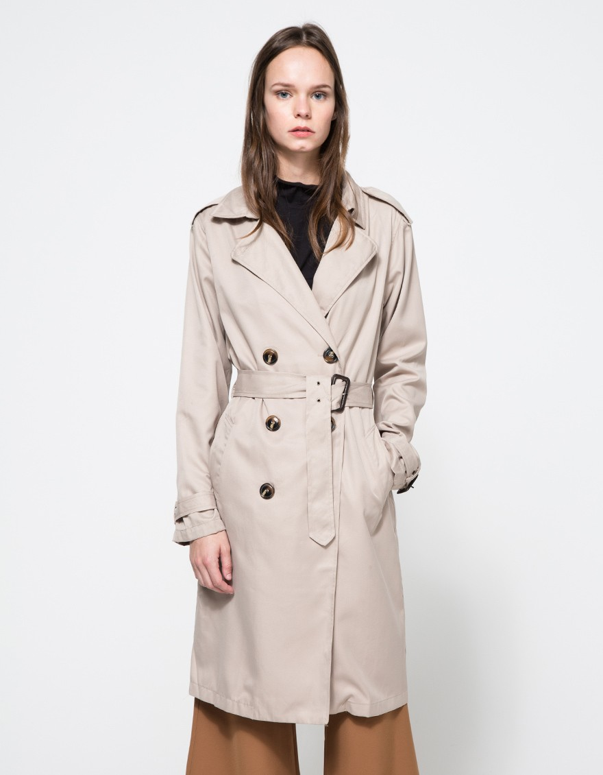Colmar Trench in Tan | Need Supply Co. | A perfect classic trench to wear for years to come | On Sale for $90!