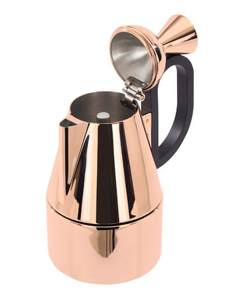 Copper Moka Pot | Tom Dixon | The way I brew every single day | $175