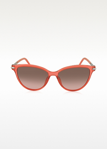 47/S TOTFX Coral Acetate Cat Eye Women's Sunglasses | Marc Jacobs | $160