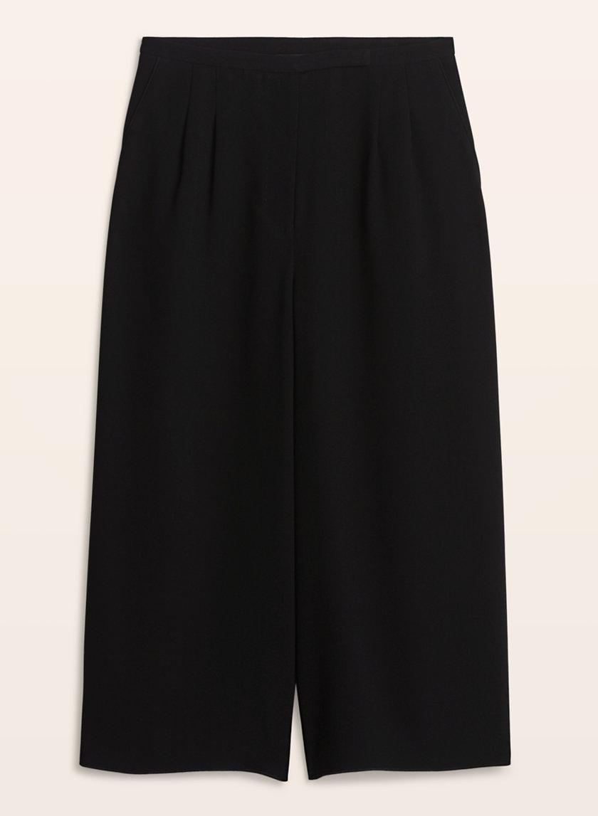 black aritzia culottes