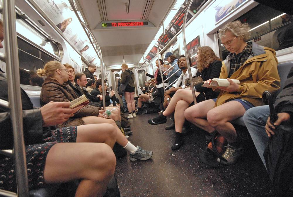 The No Pants Subway Ride.