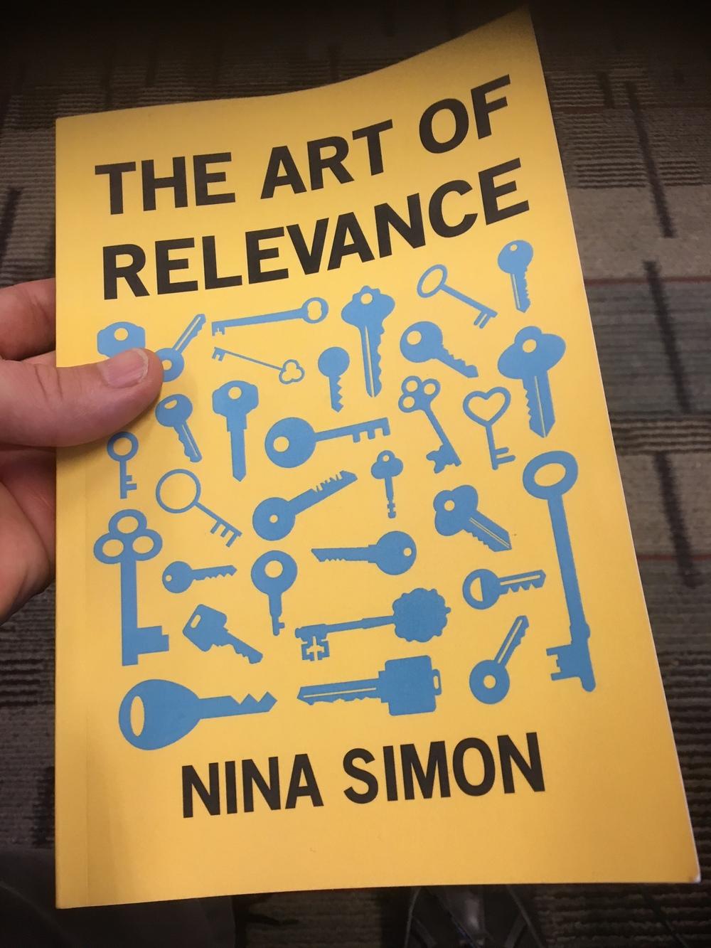 Nina Simon's The Art of Relevance