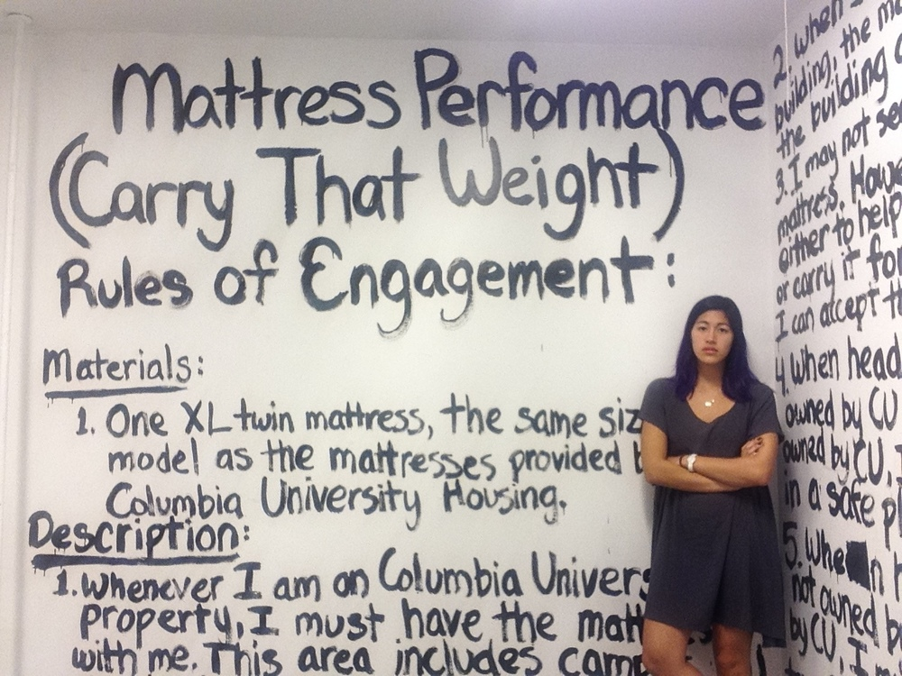 The parameters of  Mattress Performance.  Credit Emma Sulkowicz.