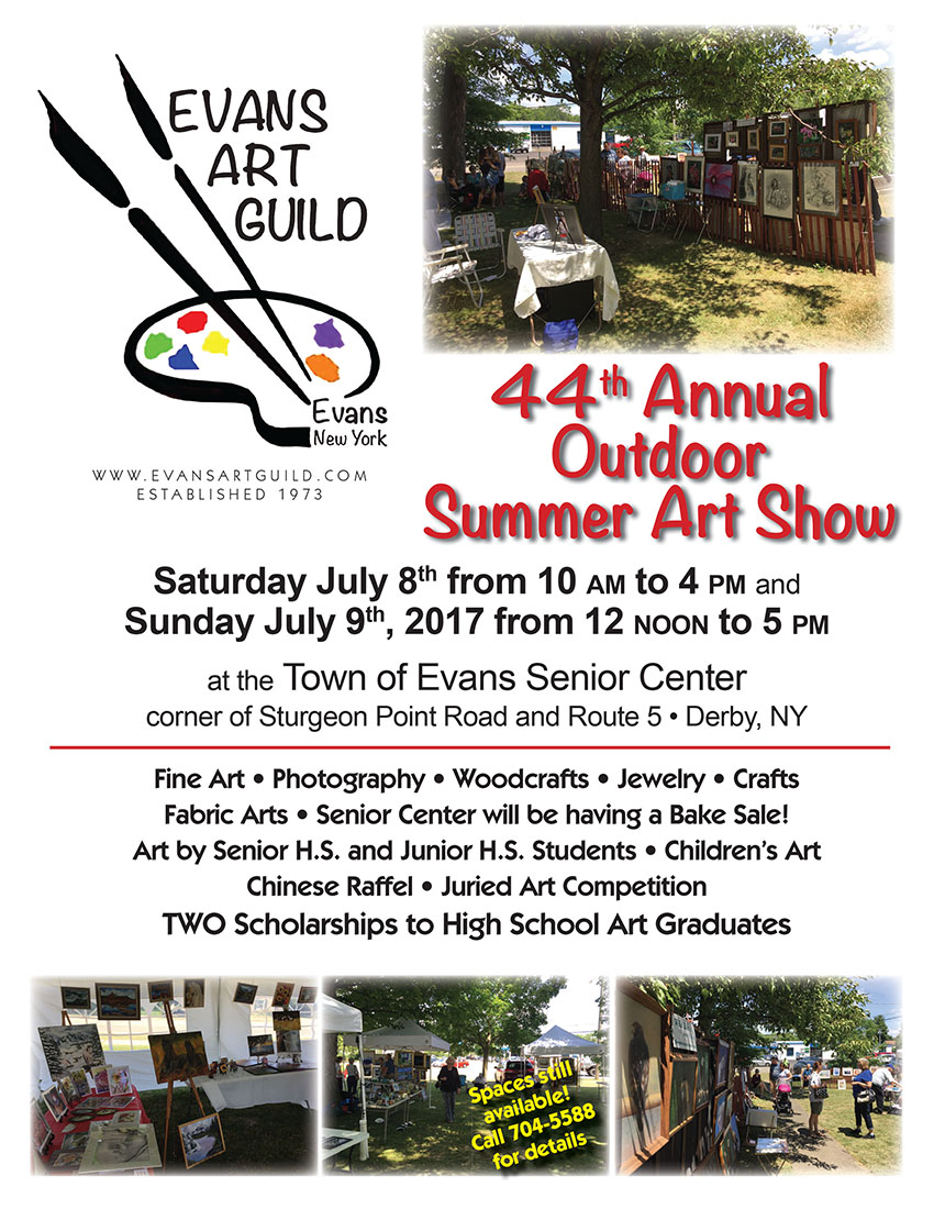 Please   CLICK HERE to Download your application   for space at the 44th EAG Annual Outdoor Summer Art Show