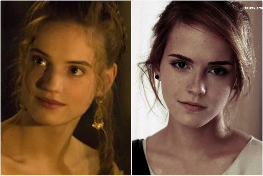 Henriette, Princess Minette: Played by Noémie Schmidt, looks like Emma Watson
