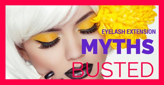 eyelash extensions perth myths