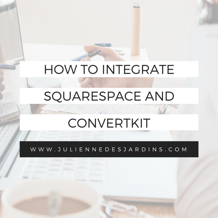 Its easier than you think to integrate convertkit and squarespace integrate squarespace convertkit pronofoot35fo Gallery