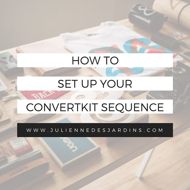 Giving a tour on the blog of how to set up your #convertkit sequences, and answering some of the most common questions I get. Tackling how to set to send immediately, how to utilize the reporting screen, and how to exclude segments of your list. Link in bio! (PS: If you didn't know, I'm one of ConvertKit's Certified Experts. Check the link in bio if you want a free month!)
