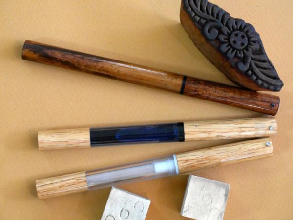 Mercury and Woodglass by Desiderata Pens