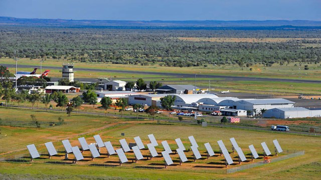Alice Springs Airport Concentrating Solar PV System