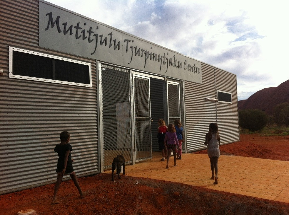 Ekistica managed the design, procurement and construction of the Mutitjulu Tjurpinytjaku (swimming) Centre, locted within the Uluru - Kata Tjuta National Park