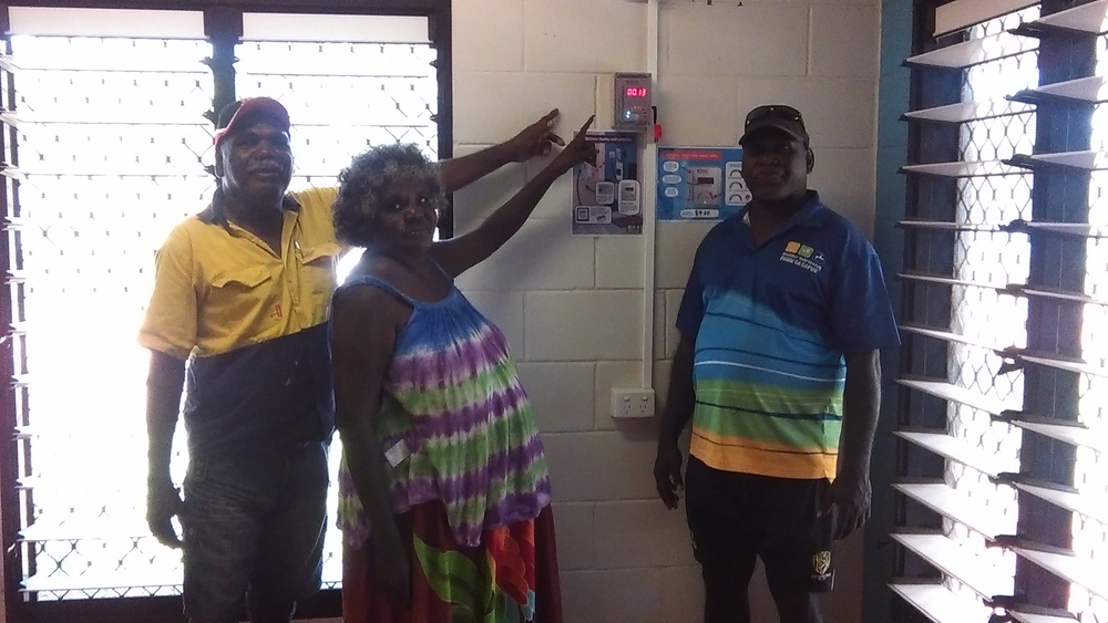 BEEBoxes are installed in more than 250 homes throughout East Arnhem Land as part of the Manymak Low Income Energy Efficiency Program.